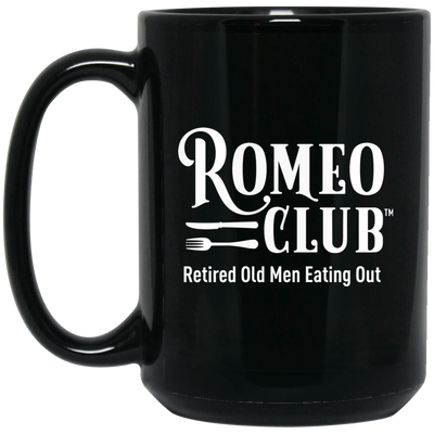 Black Coffee Mug, Drink Like a ROMEO