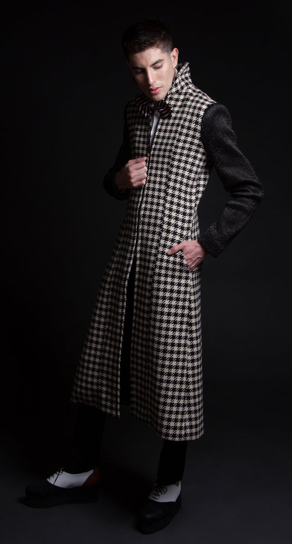 Trendy long coat