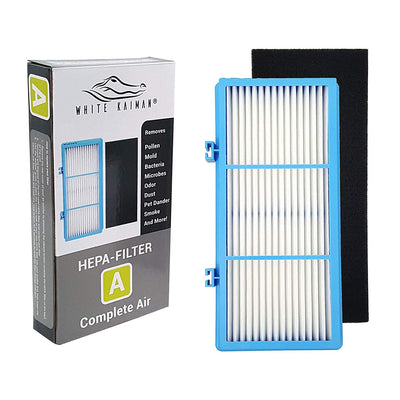 White Kaiman AER1 HEPA Type Air Filters Size A Complete Air HAPF30AT and HAP242-NUC