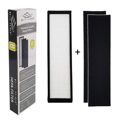 1 pack  White Kaiman True HEPA Air Filter Replacement - Size B