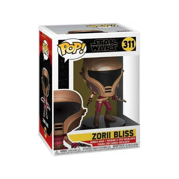 Zorii Bliss with Blasters #311 Pop Movies the Rise of Skywalker Vinyl Figure (Includes Compatible Pop Box Protector Case)