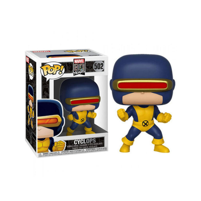 Funko POP! Marvel 80 Years #502 - Cyclops [Glow in The Dark] Exclusive
