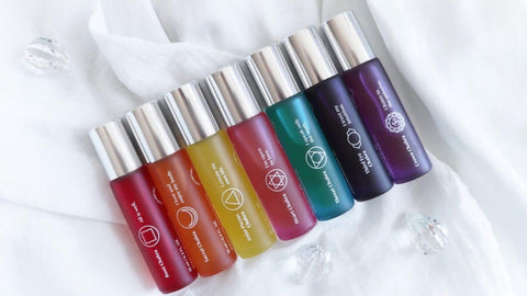 Chakra products from Flow Cosmetics
