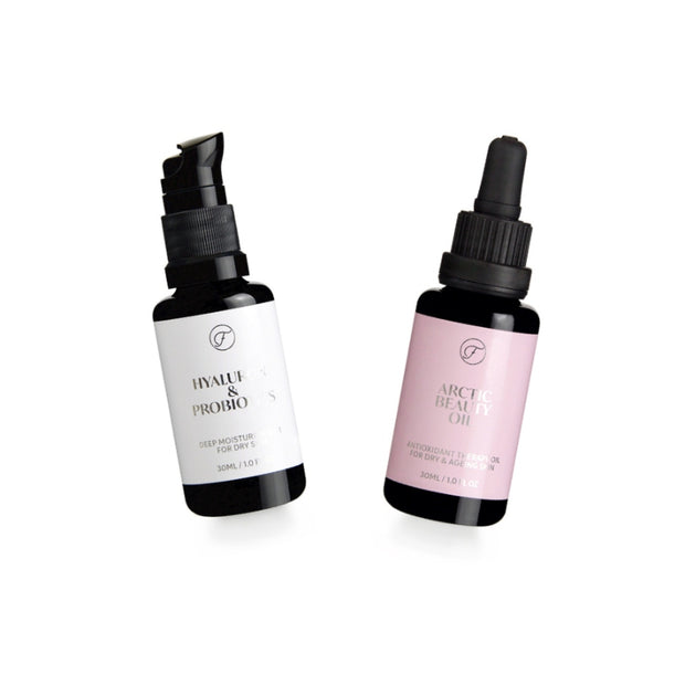 Hyaluronic acid serum package