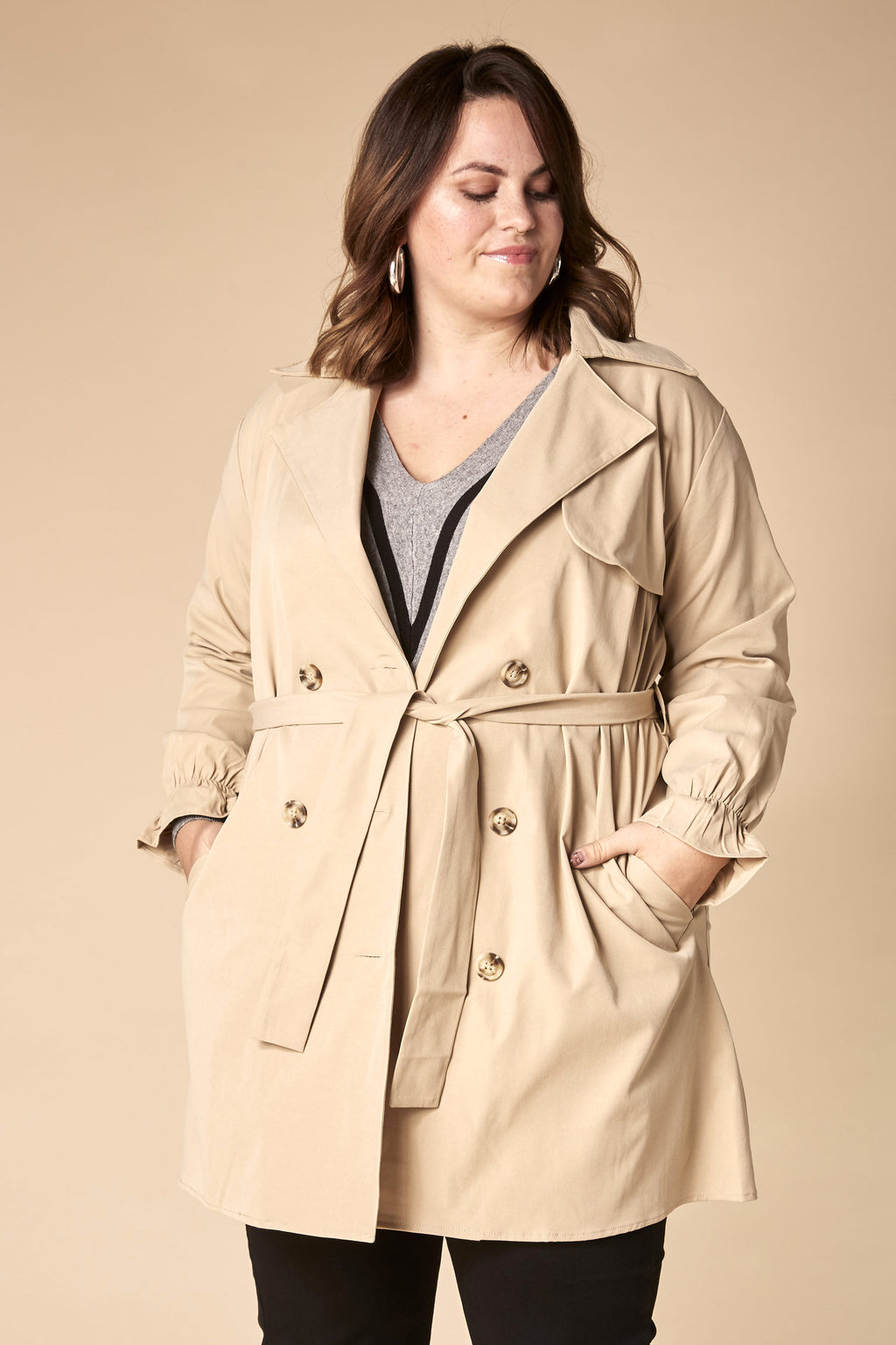 Trench Léger Beige