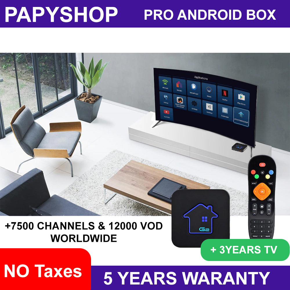 PRO Android 7.1 Smart TV BOX +IPTV free