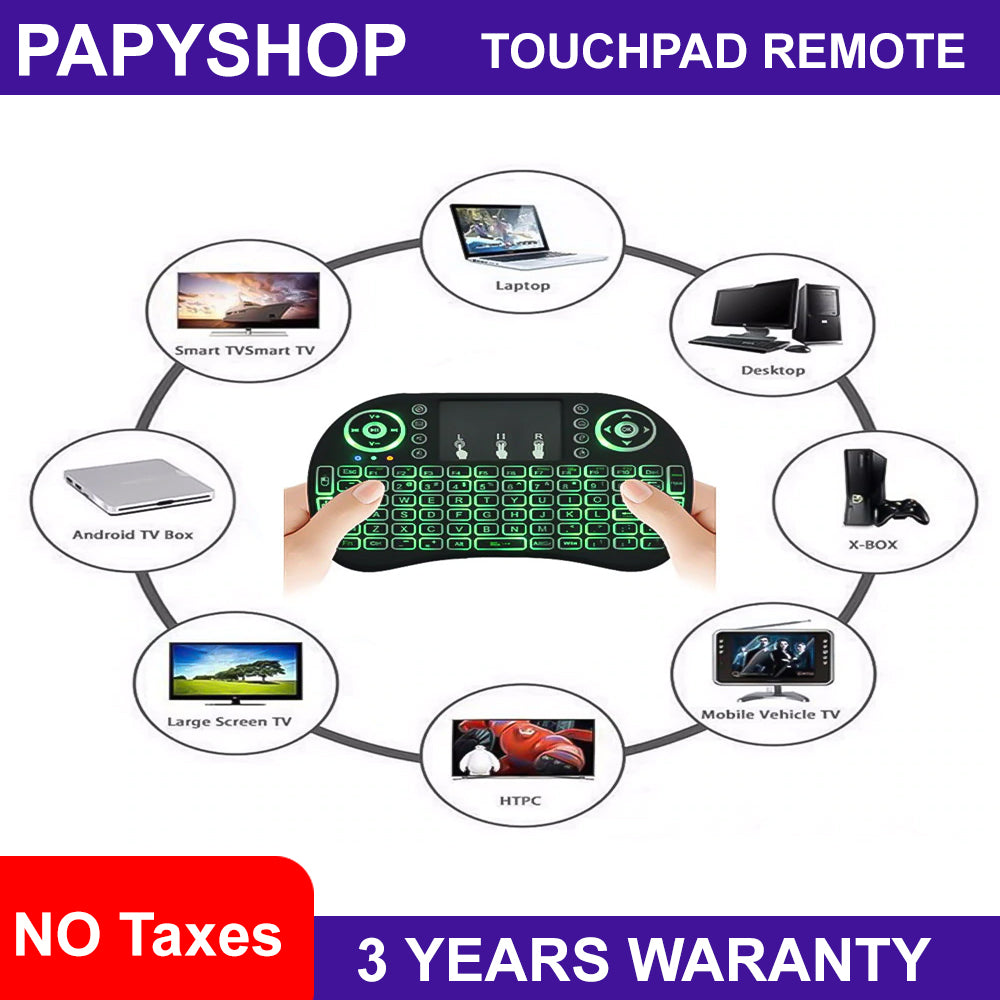 PRO Mini Touchpad Remote & Keyboard