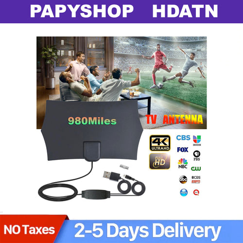 980 Miles HDV Digital TV Antenna