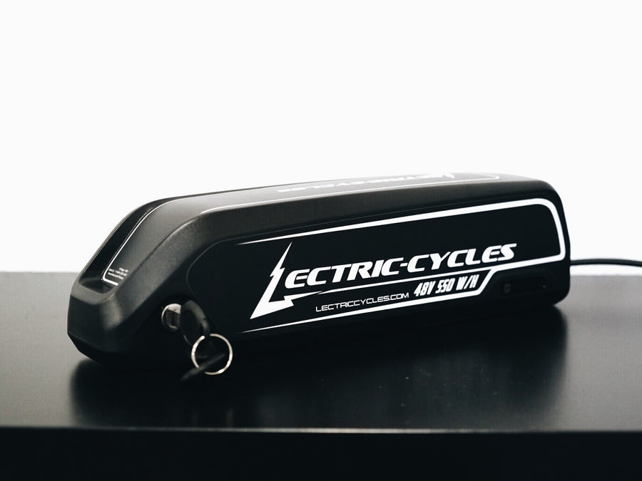 Slim Downtube Lithium-Ion Battery