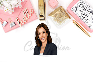 Kamala Harris Die Cuts and Stickers