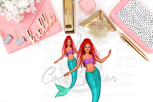 Ariel Die Cuts and Stickers
