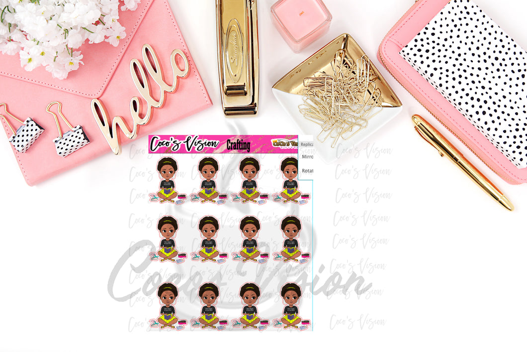 Coco Crafting Stickers