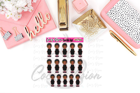 Coco Hair Stickers