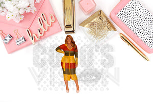 Keyshia Die Cuts and Stickers