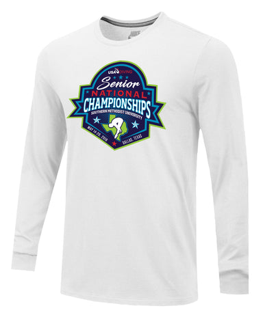 2018 Senior National Championships Nike Long Sleeve Tee
