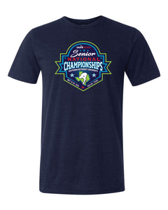 2018 Senior National Championships Unisex Triblend Tee