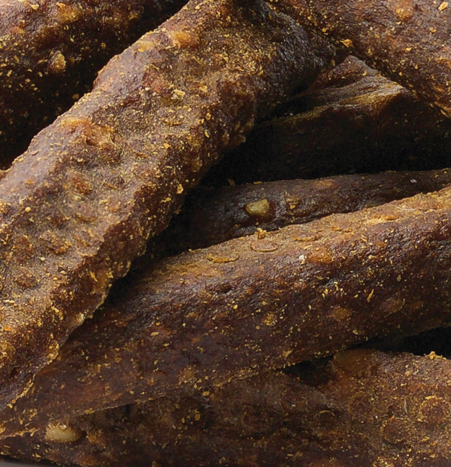 Chewy Beef Sticks Dog Treats Loose Product - Zoomed In