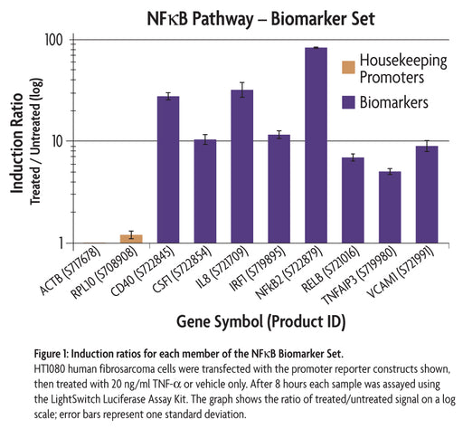 LightSwitch™ NFκB Biomarker Set