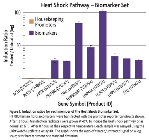 LightSwitch™ Heat Shock (HSF1) Biomarker Set