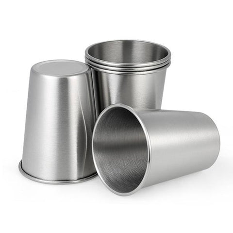 Unbreakable 304 Stainless Steel Reusable Kids Cups - Out Of Stock