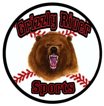 Grizzly River Sports · Baseball · Softball · Equipment · Connecticut · Dealer · Mizuno · Easton · Louisville Slugger · Worth · Rawlings · Vinci · Marucci · Wilson · Demarini · Football · Lacrosse · Training · Safety