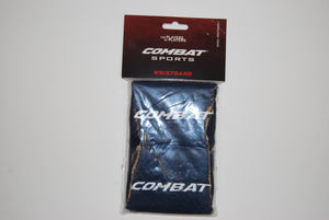 Combat Sports Absorbent Athletic Wristbands Pair Various Colors