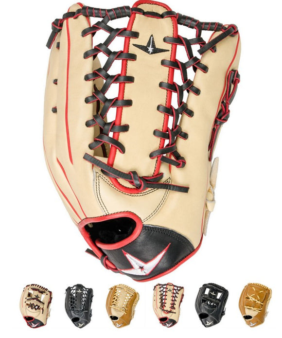 All-Star Pro Elite Professional Baseball Gloves Various Color/Size