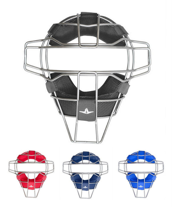 All-Star FM25TI- LUC Titanium Ultra Cool Catcher's Face Mask Baseball Various Colors