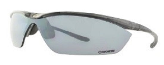 Worth FP7 Black / Smoke Adult Womens Fastpitch Softball Sunglasses 10212832.SPT