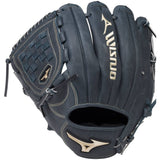 Mizuno GGE11NY 12 Inch  LHT Global Elite Pro Navy Blue Baseball Glove Lefty