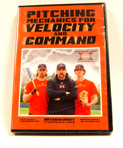 Pitching Mechanics for Velocity and Command by Bryan Harvey DVD