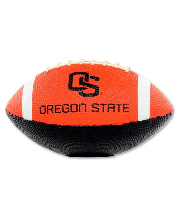 Rawlings NCAA Oregon State Beavers Hail Mary Uninflated Rubber Youth Football