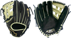 "Lefty SSK S19DH2401L 12.75"" Black Line Baseball Glove Modeled After Acuña Glove"
