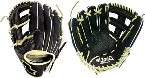 "LHT Lefty SSK S19PW2401L 11.75"" Black Line Baseball Glove Dimple Sensor Technology"