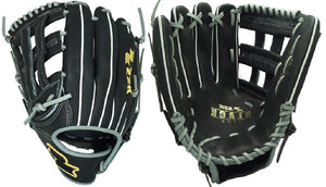 "2020 LHT Lefty SSK S20BLHWL 12.75"" Black Line Baseball Glove Outfield H Web"