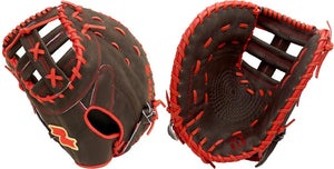 "LHT Lefty SSK S20RLFBL 12.5"" Red Line Baseball First Base Mitt"