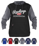 Rawlings PFHPRBB Long Sleeve Logo Hoodie Hooded Sweatshirt Various Colors