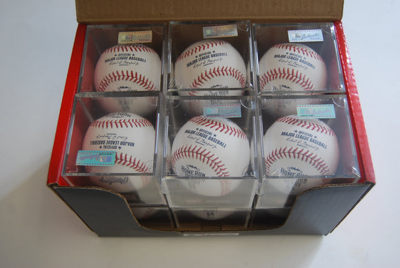 Dozen Rawlings ROMLBHR15 w/Cube All-Star Home Run Derby Baseball Official ROMLB