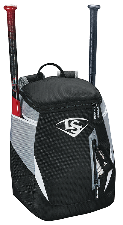 Louisville Slugger WTL9302 Black Youth Genuine Stick Pack Bat Pack Backpack New!