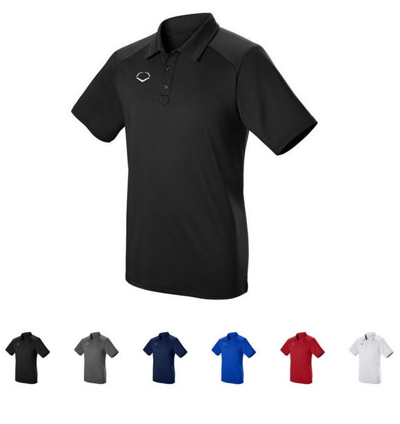 EvoShield WTV1022 Adult Evo Pro Team Polo Shirt Golf/Baseball Various Color/Size