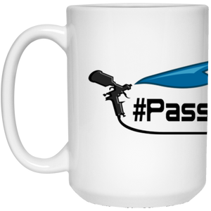 #PASSION_4_PAINT 15 oz. White Mug