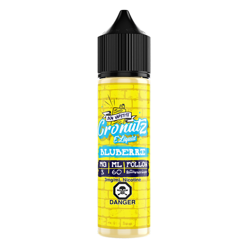 Blueberry By Cronutz E-liquids
