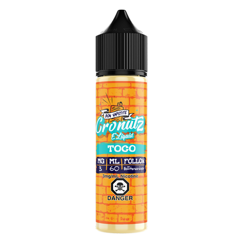 Toasted Coconut By Cronutz E-liquids