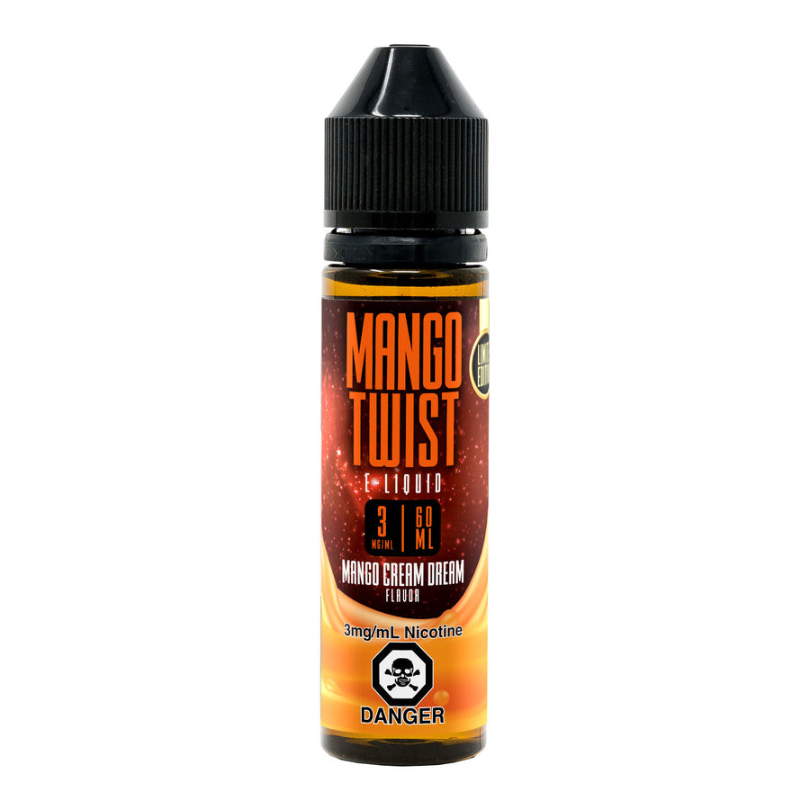 MANGO CREAM DREAM 60ML MANGO TWIST BY TWIST E-LIQUIDS