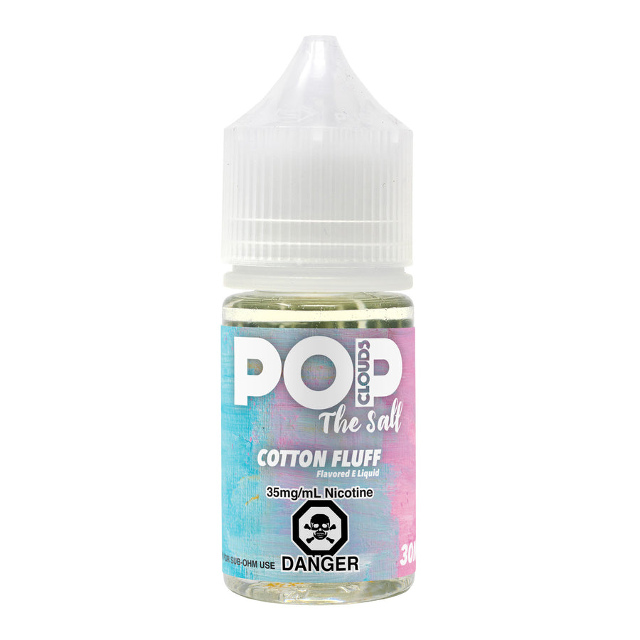 COTTON FLUFF 30ML NIC SALT BY POP CLOUDS THE SALT E-LIQUID