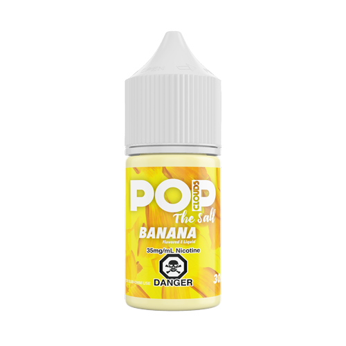 Banana 30ML Nic Salt By Pop Clouds The Salt E-Liquid