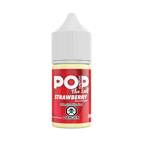 Strawberry 30ML Nic Salt By Pop Clouds The Salt E-Liquid