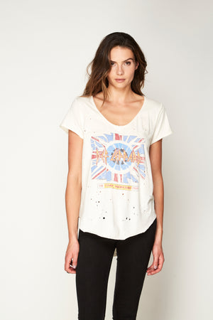 Def Leppard V-Neck Tee - Trunk Ltd.