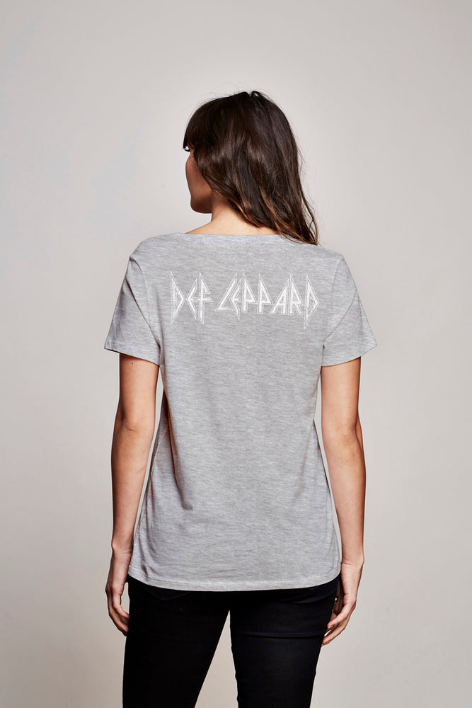 Def Leppard Short sleeve boyfriend tee - Trunk Ltd.