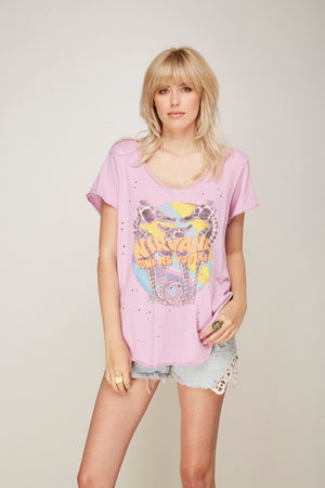 Nirvana Hi-Lo V-Neck Tee - Trunk Ltd.